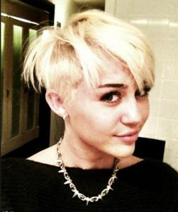 Miley Cyrus Blonde Hair 2012