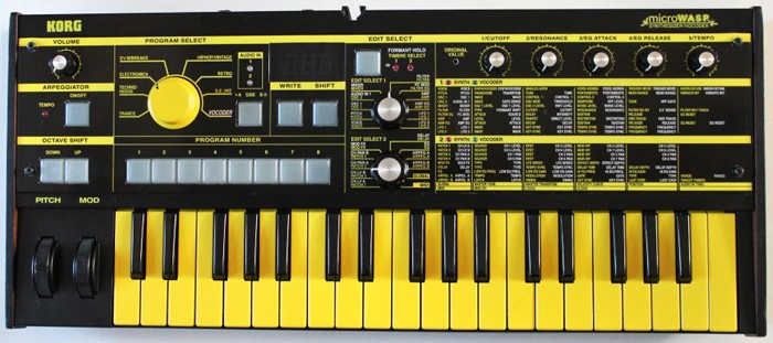 The MicroWasp – The Love Child Of A Korg MicroKorg And An
