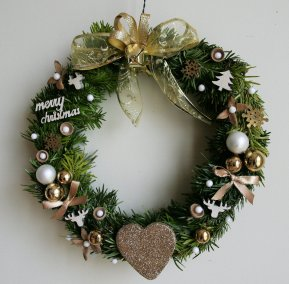 couronne-noel-doree