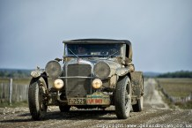 Alvis Sp20/25 prepared by Earley Engineering competes in the 2013 Cape Rally Argentina