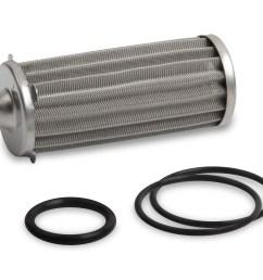 earls 260 gph hp billet fuel filter element o ring kit 100 micron [ 3043 x 2444 Pixel ]