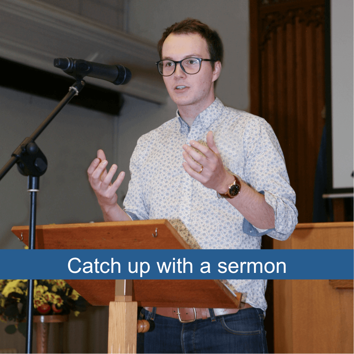 Catch up with sermons from ECBC