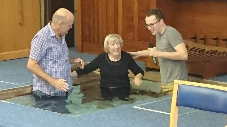 Ruth's brilliant baptism
