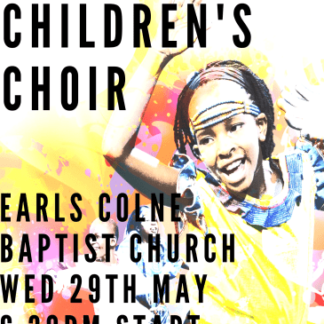 Watoto children's choir are coming!