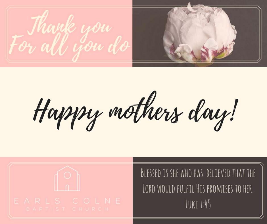 Celebrating mothers day at ECBC