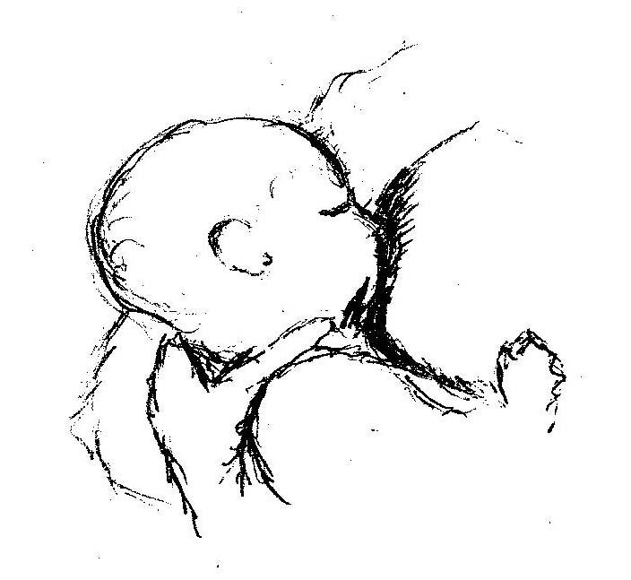 early baby days, breastfeeding, nursing, ABC baby guide