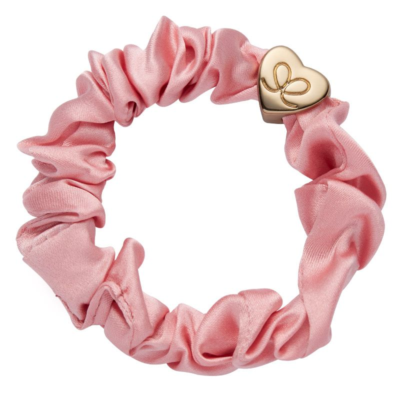 By Eloise London Scrunchie Rose Tan