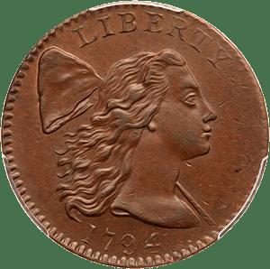 Large Cent 1793-1796 Liberty Cap