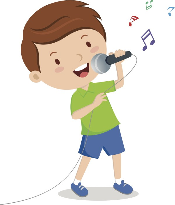 Boy Singing Clip Art