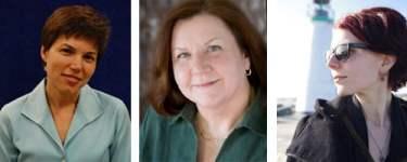 Lisa Guernsey, Karen Nemeth, and Cen Campbell