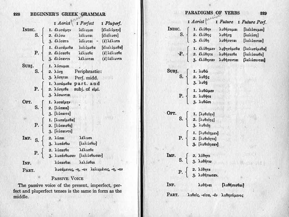 Beginner's Grammar of the Greek New Testament by W. H. Davis