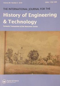 Volume 88 Issue 2 of the International Journal for the History of Engineering and Technology - Part 3 of the Proceedings of the International Early Engines Conference, 2017
