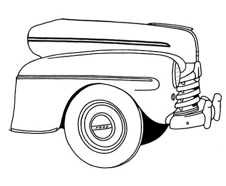 Early Ford V8 Gallery