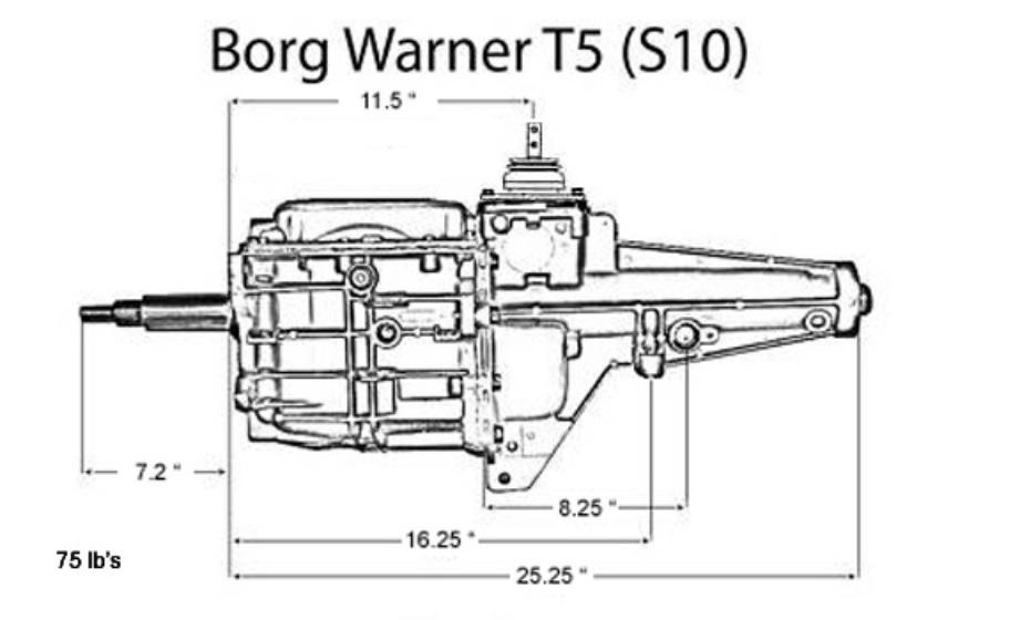 Borg Warner T5 | earlyfordv8.se