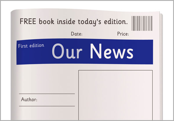 free printable newspaper template