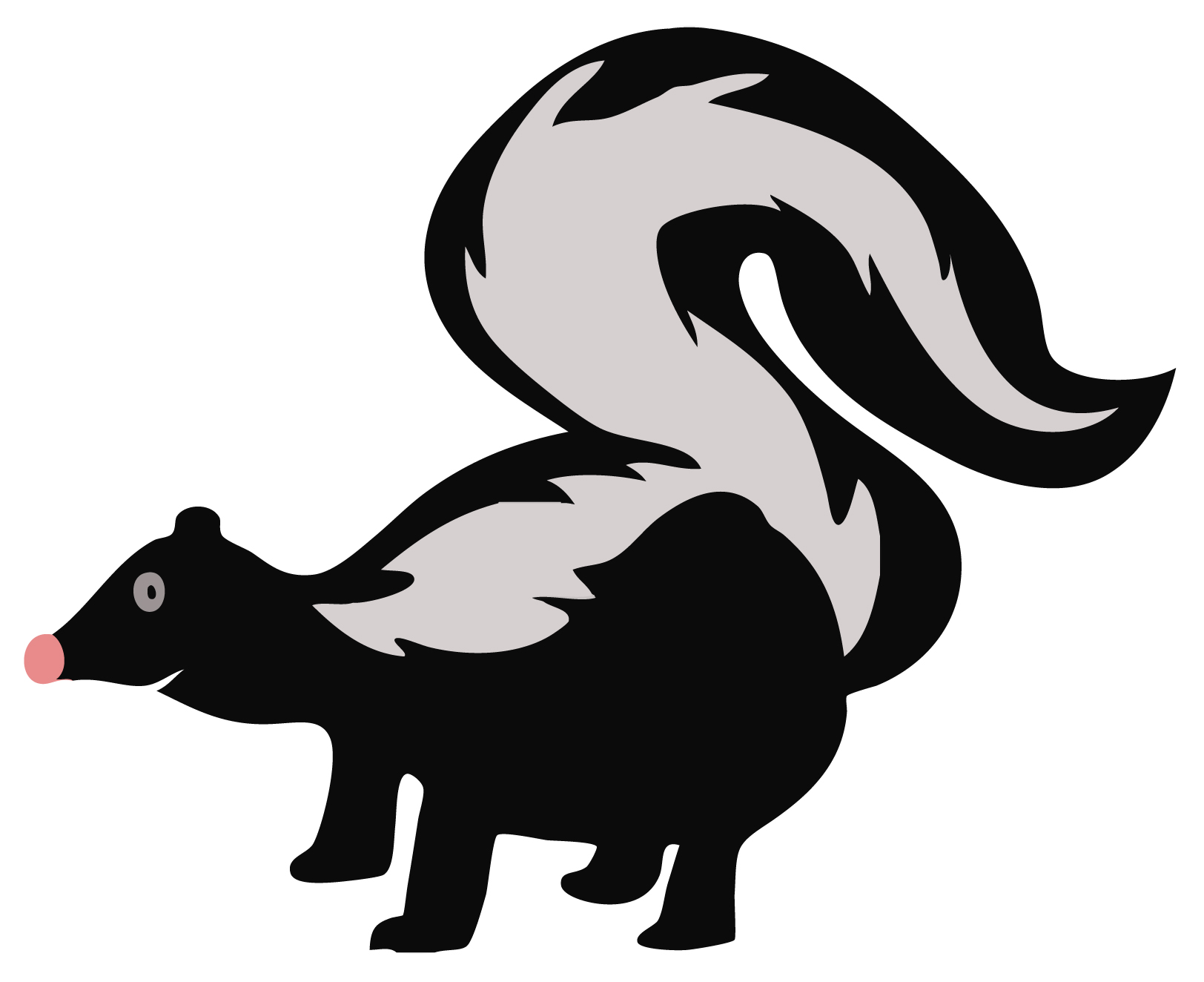 Cute Cartoon Seal Wallpaper Early Learning Resources Skunk Free Early Years And