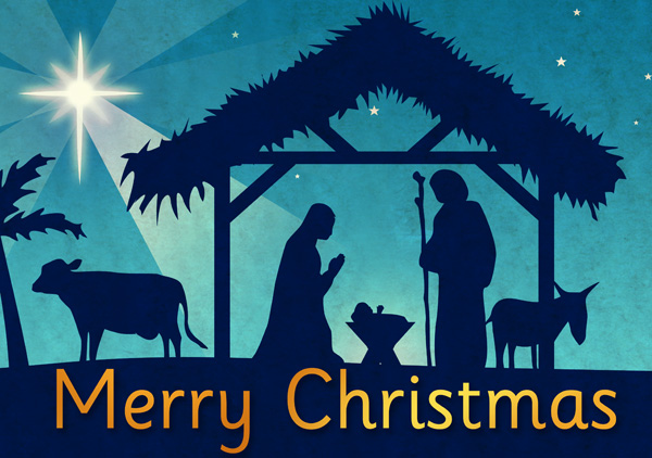 christmas nativity poster free