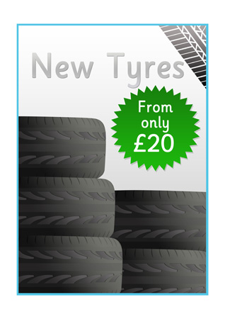Garage RolePlay Poster Tyres  Free Early Years  Primary Teaching Resources EYFS  KS1