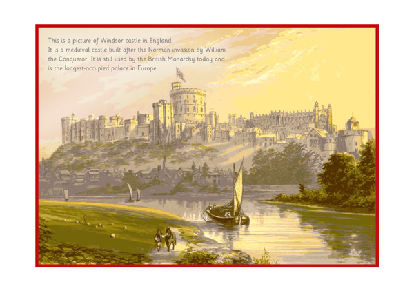 Windsor Castle Poster Free Early Years & Primary