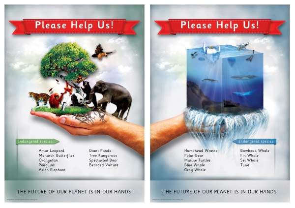 Endangered Animals Posters Free Early Years & Primary