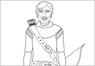 Early Learning Resources Robin Hood colouring sheets (free