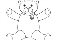 Early Learning Resources Where's My Teddy? Colouring Sheets
