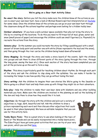 short story diagram template carling technologies toggle switch wiring we're going on a bear hunt activity ideas | free early years & primary teaching resources (eyfs ...