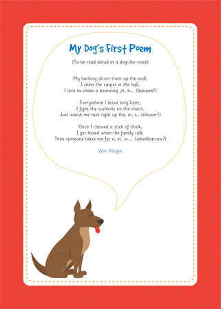 My Dogs First Poem EYFS And KS1 Free Early Years