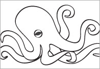 Early Learning Resources Under the Sea Colouring In Sheets