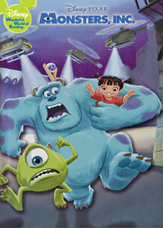 Image result for monsters inc book