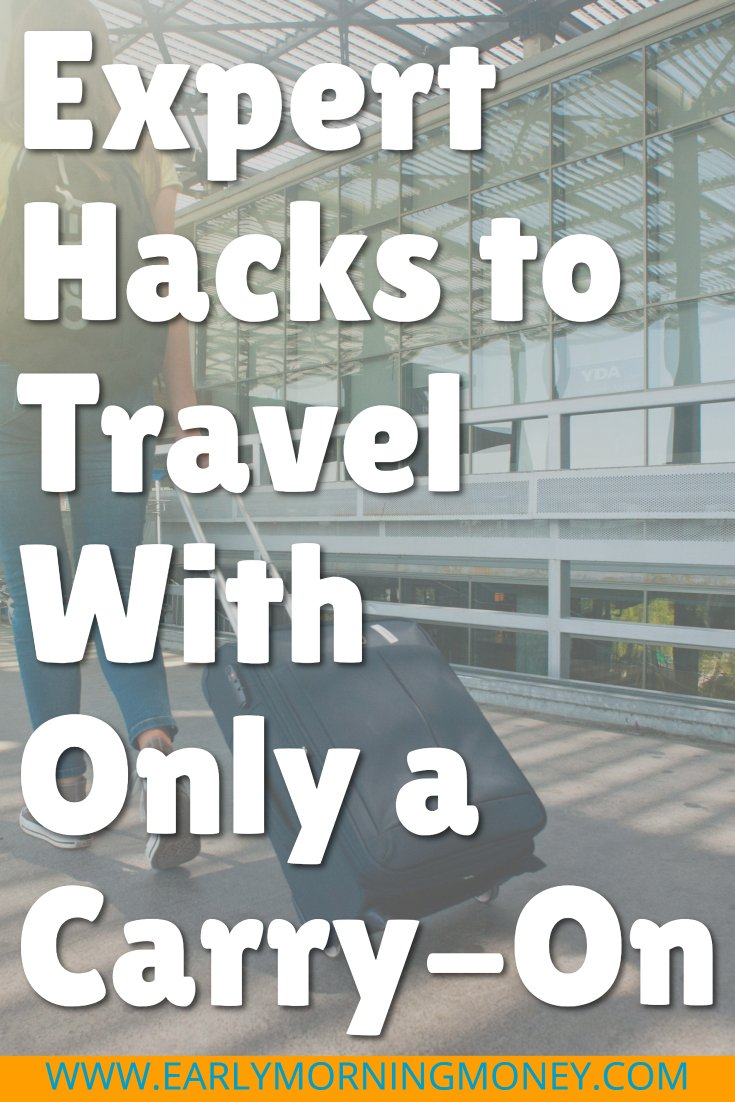 Is traveling with a checked luggage really that bad? YES! It is possible to travel with only a carry-on -- here's how to do it and enjoy stress-free travel.