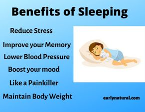 Benefits of Sleeping