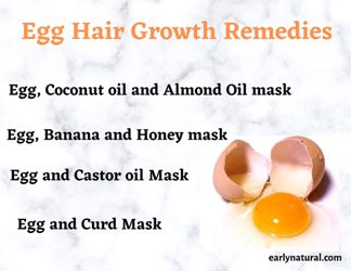 Egg Hair Growth Remedies