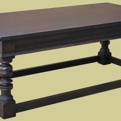 Just Chairs And Tables French Country Dining Nz Dark Oak Coffee Table | Handmade In England Bespoke Occasional Furniture