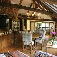 Dinning Room Table And Chairs Fishing Chair Rucksack Upholstered & Trestle In Oak Framed Kitchen
