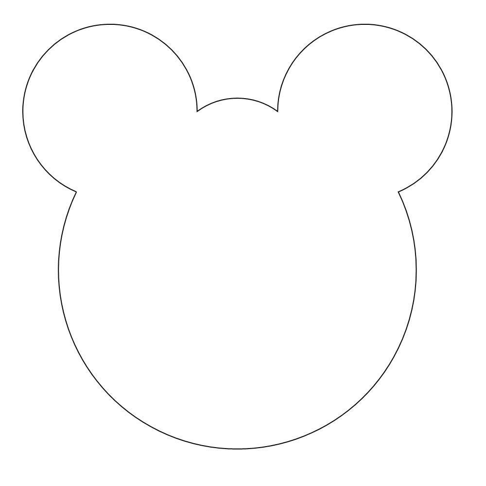 Teddy Bear Mask templates to print out – early play templates