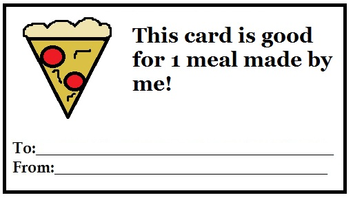 Free Lunch Coupon Template Free Gift Coupon Templates To Print Out  Early Play Templates