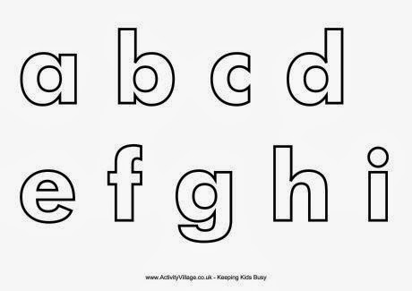 Alphabet Early Play Templates