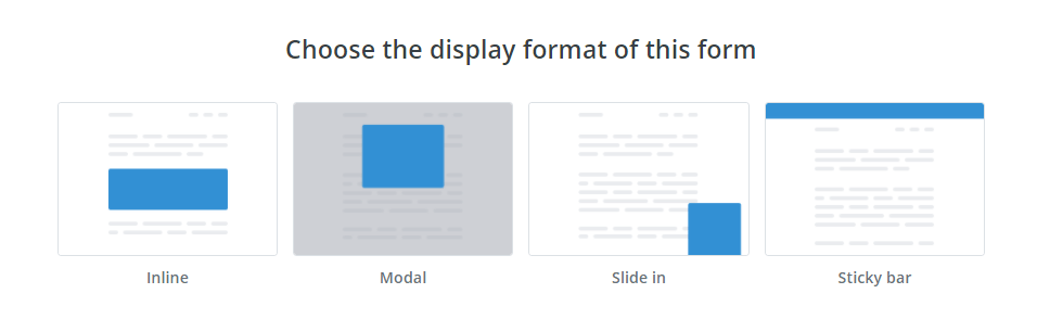 Canva's sign up form types
