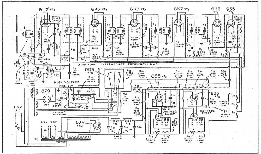 medium resolution of crt tv schematic diagram wiring diagrams trigg crt television schematic diagram