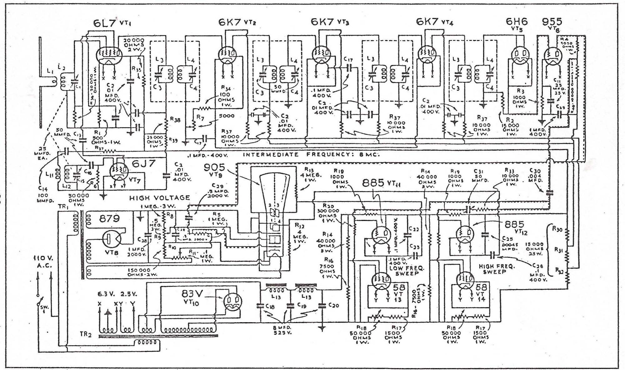 hight resolution of crt tv schematic diagram wiring diagrams trigg crt television schematic diagram