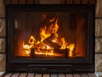 Gas Vs Wood Fireplaces - Early Times