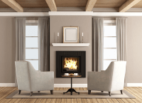 Why You Should Avoid Fake Fireplaces - Early Times