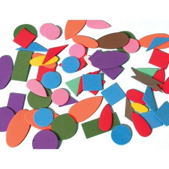 Assorted Eva Craft Foam Shapes Art Craft From Early Years Resources Uk