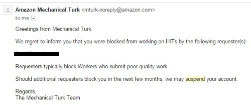 mturk-account-suspention