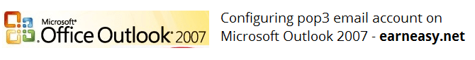 configure-pop3-email-account-Microsoft-Outlook