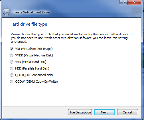 step4-linux-windows-android-installation-virtualbox-harddisk-type-setup
