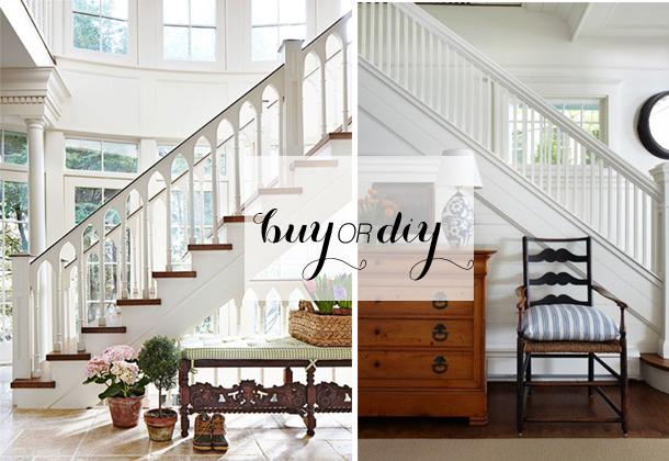 buy or diy - painted staircase