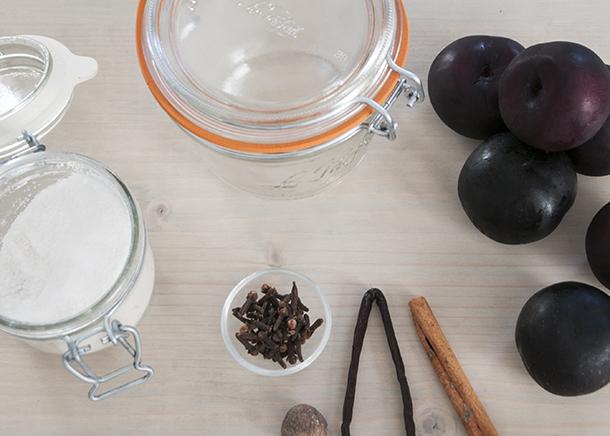 spiced plum ingredients