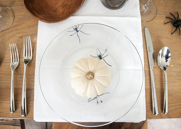 stamped spider plate